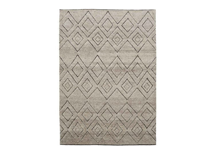 Gazelle Rug - Natural & Slate Armadillo & Co