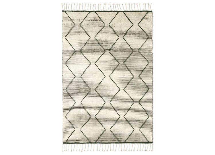 Nala Rug - Natural & Slate Armadillo & Co