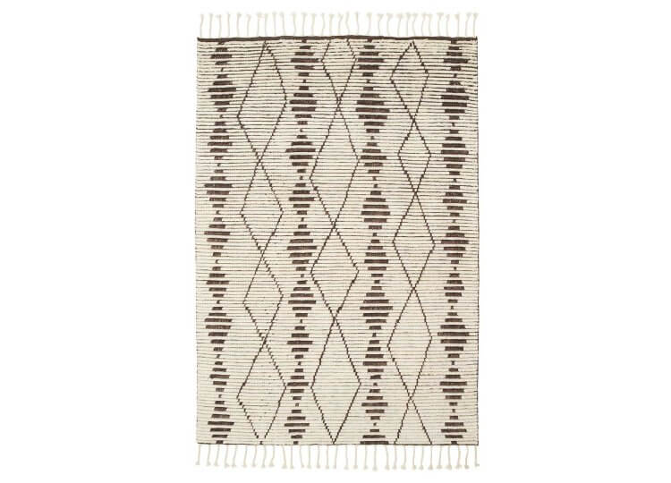 Zulu Rug - Natural & Shale Armadillo & Co