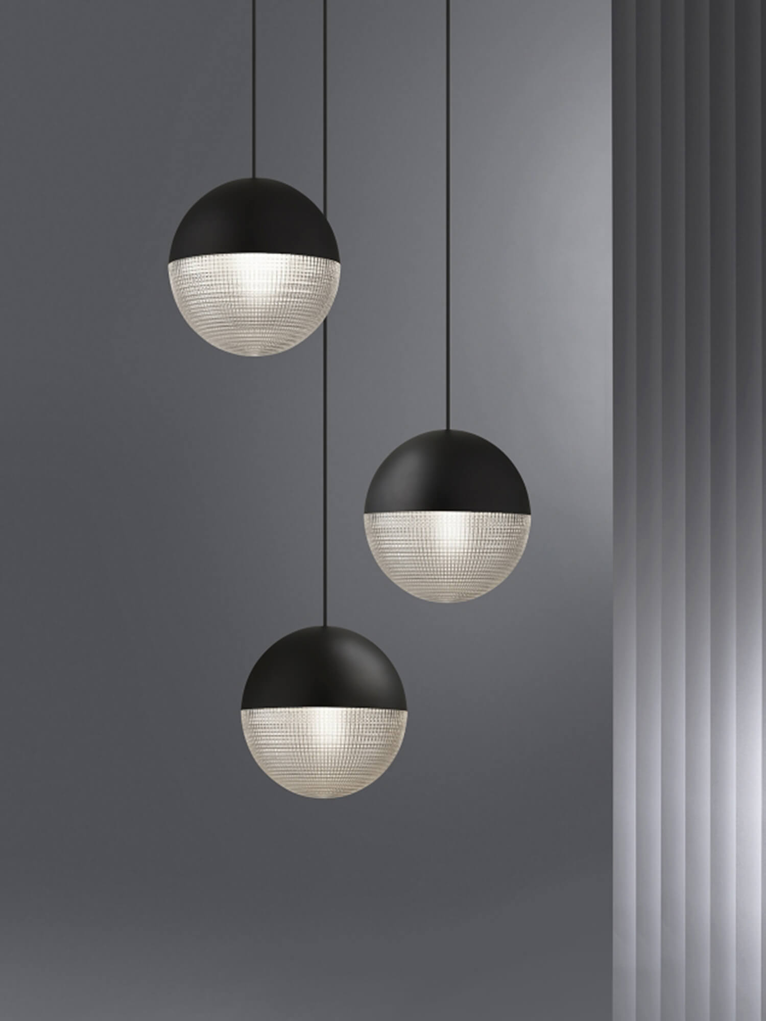 Observatory Lens Flair Pendant Lee Broom