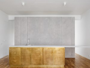 Kitchen | Bolshoy Levinsky Apartment Kitchen by Crosby Studios