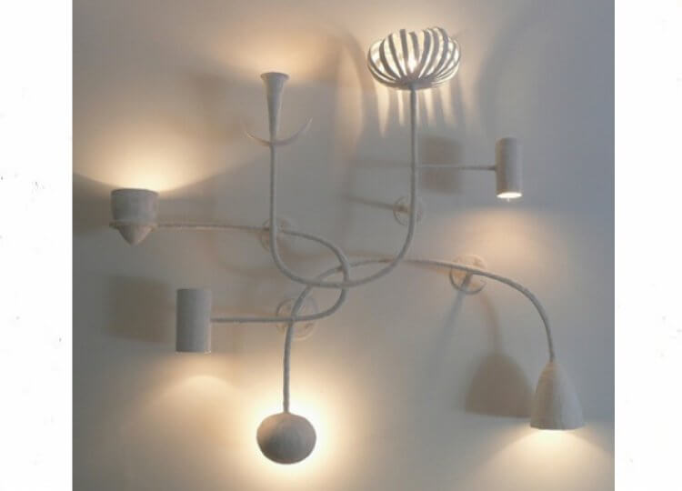 Seven Shapes Wall Light