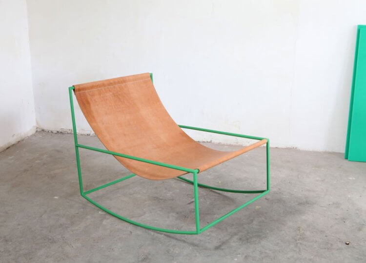 First Rocking Chair, 2013 Muller Van Severen