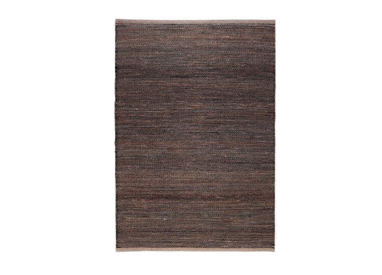 Drift Rug – Natural & Black