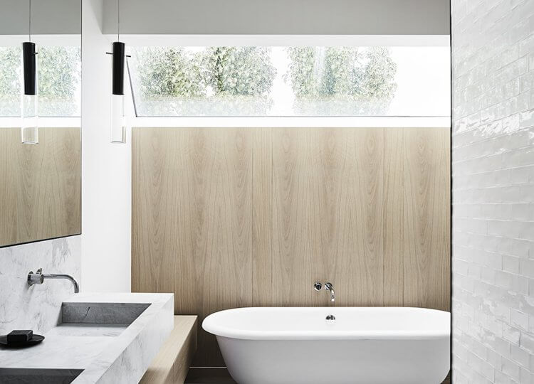 Bathroom | Elissa House Bathroom by Templeton Architecture