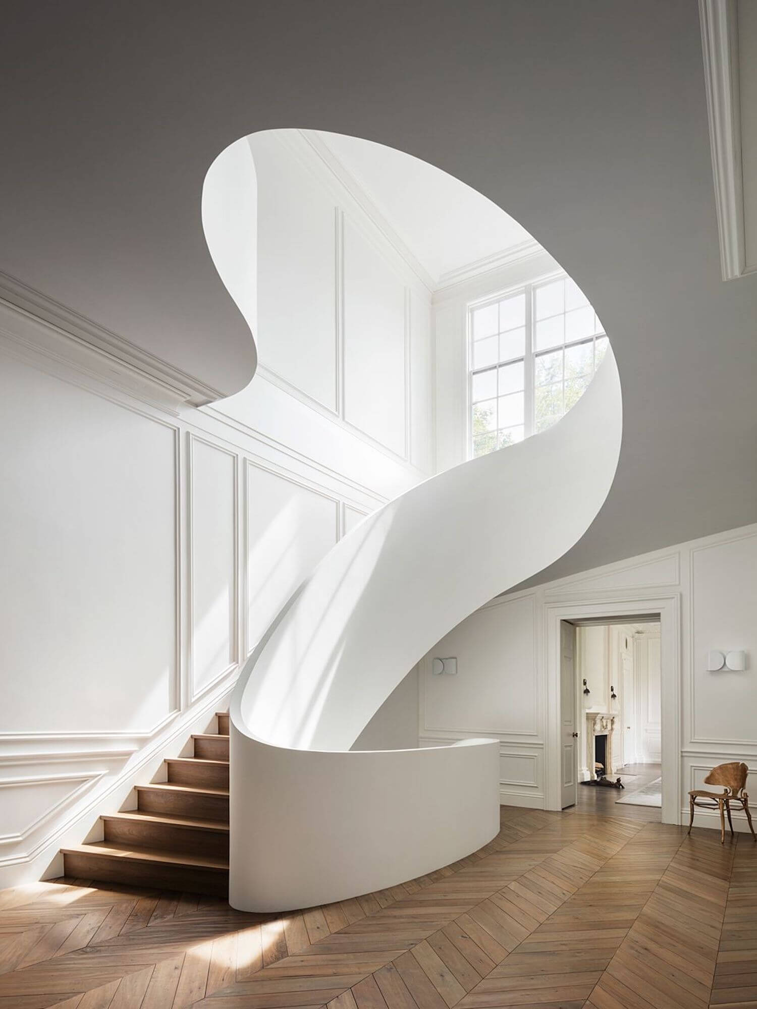 est living steven harris architects staircase 1