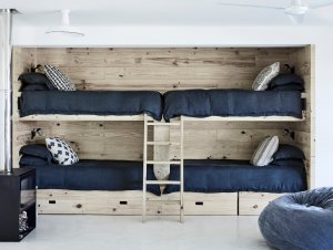 Kids | South African Beach House Kids Bedroom by Tessa van Schaik & Luke Brown