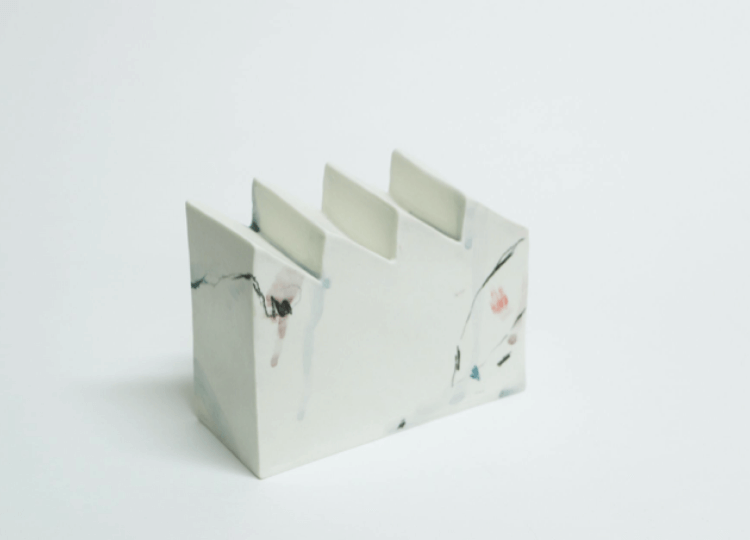 Porcelain Saw Tooth Building