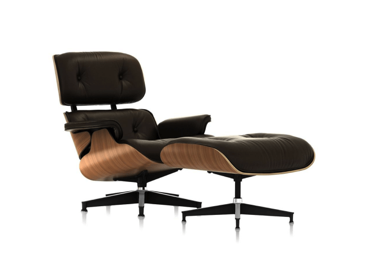 Eames Lounge & Ottoman Luke Furniture