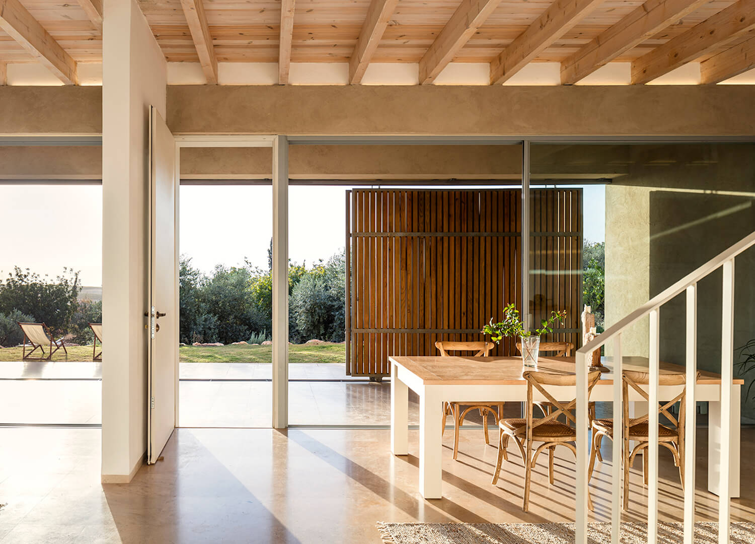 est living global interiors 18 Golany Architects Residence in the Galilee Amit Geron