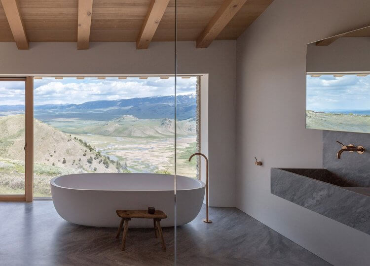 Bathroom | Wyoming House Bathroom by McLean Quinlan