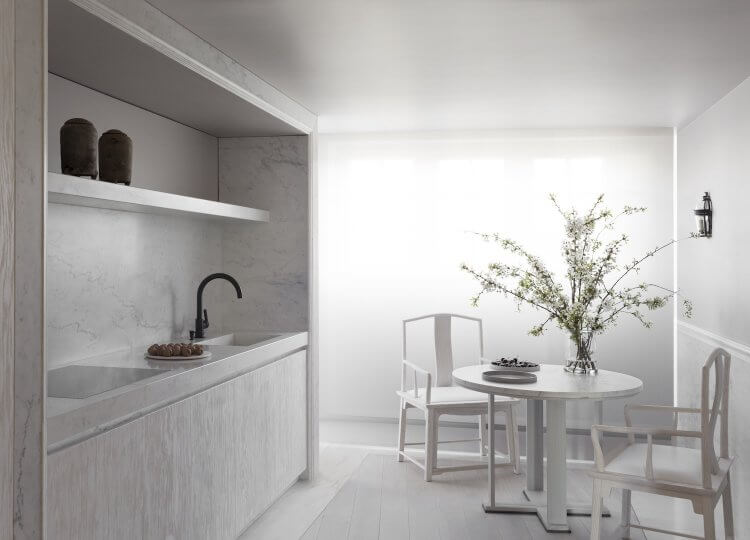 Kitchen | Paris Apartment Kitchen by Guillaume Alan