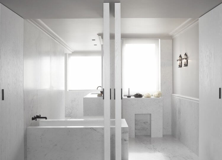 Bathroom | Paris Apartment Bathroom by Guillaume Alan