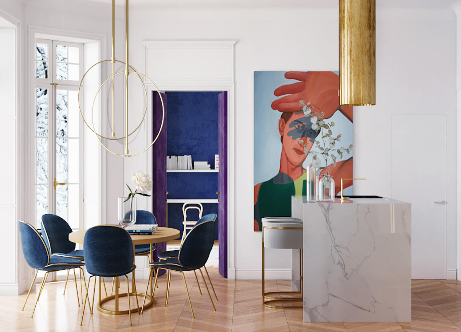 est living parisian apartment crosby studio 3