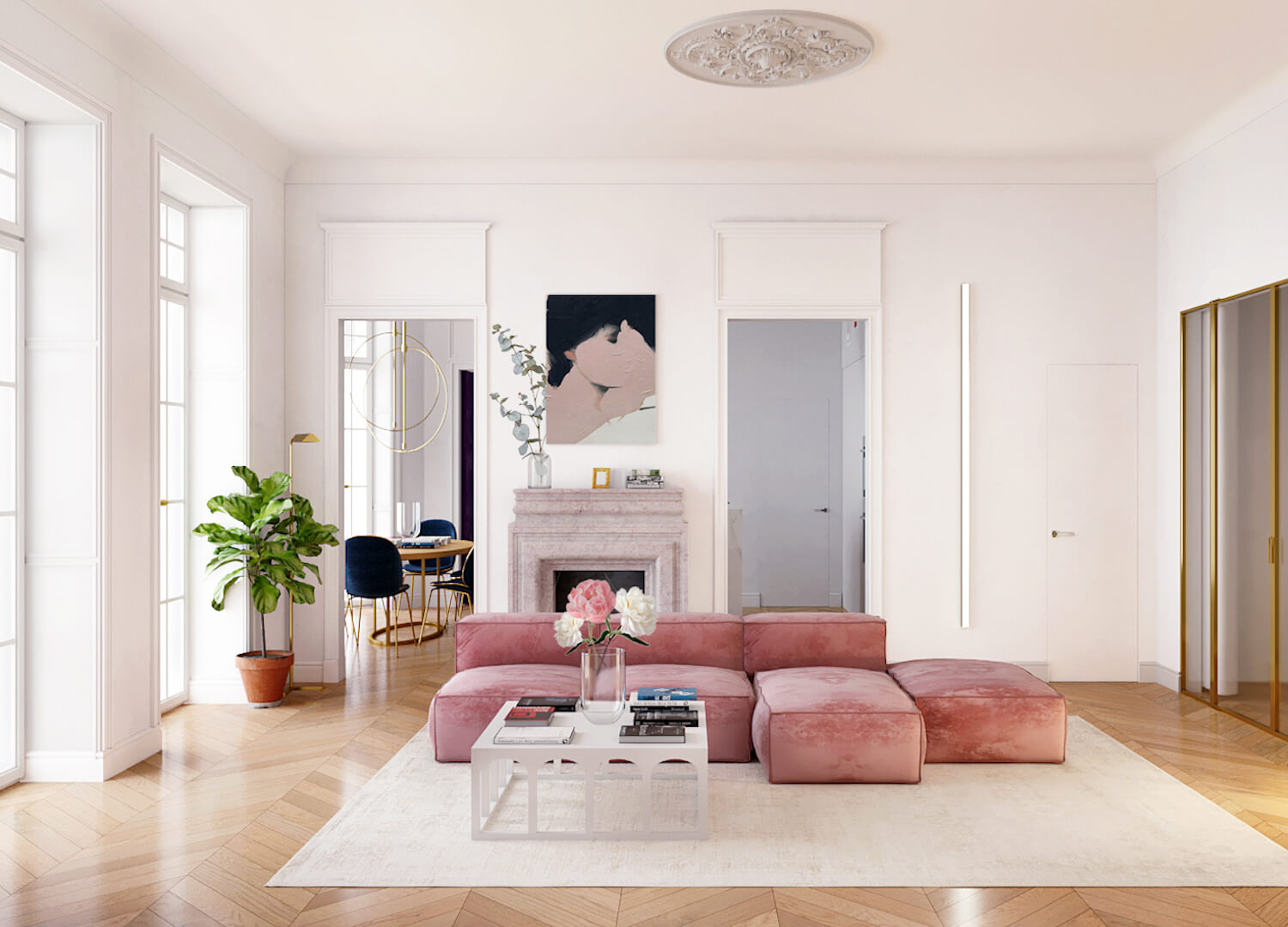 est living parisian apartment crosby studio 5