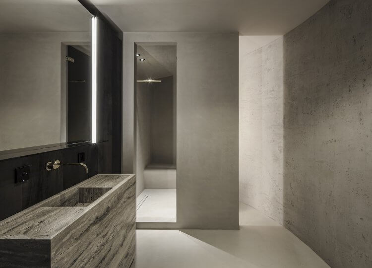 Bathroom | Silo Apartment Bathroom by Arjaan de Feyter
