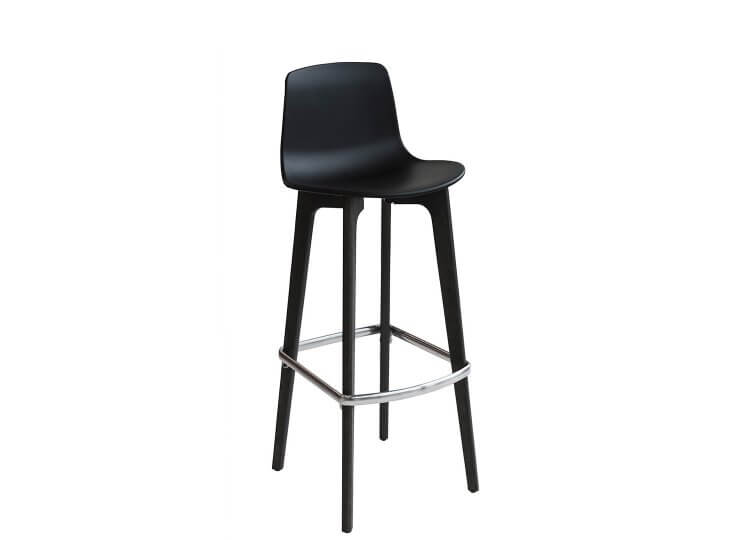 Lottus Wood Barstool