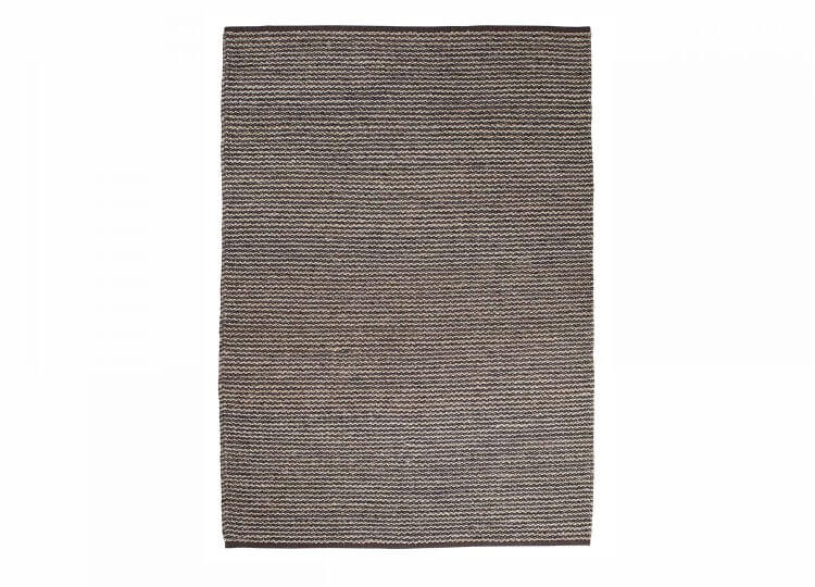 Kalahari Rug - Pewter & Charcoal Armadillo & Co