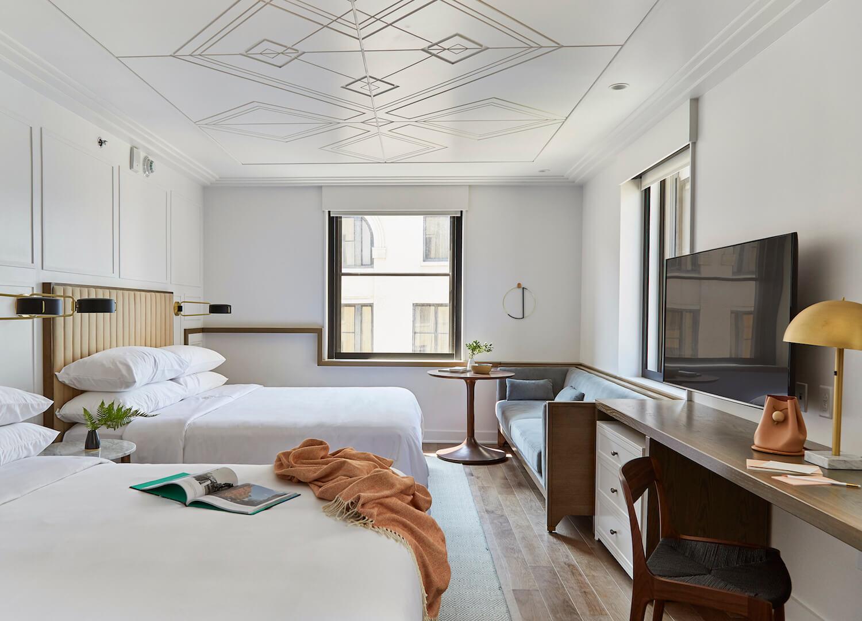 est living travel NOELLE WHITE ROOM CREDIT EMILY DORIO