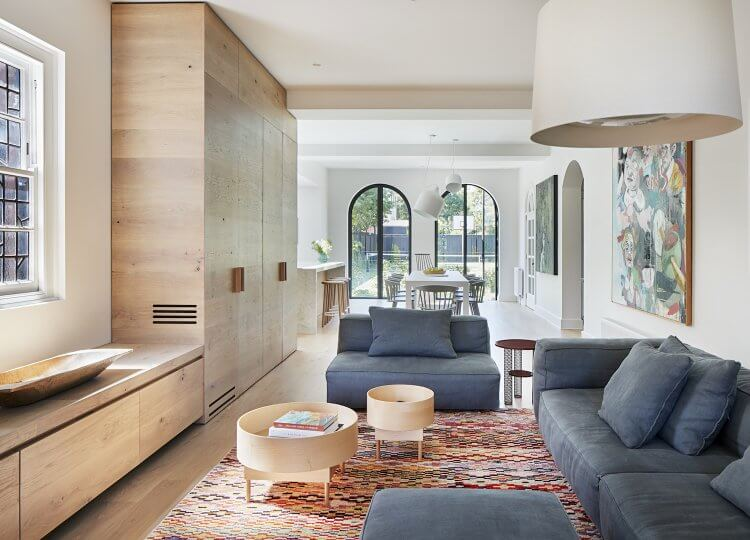 Living | Malvern East by Made by Cohen & Penny Kinsella Architects