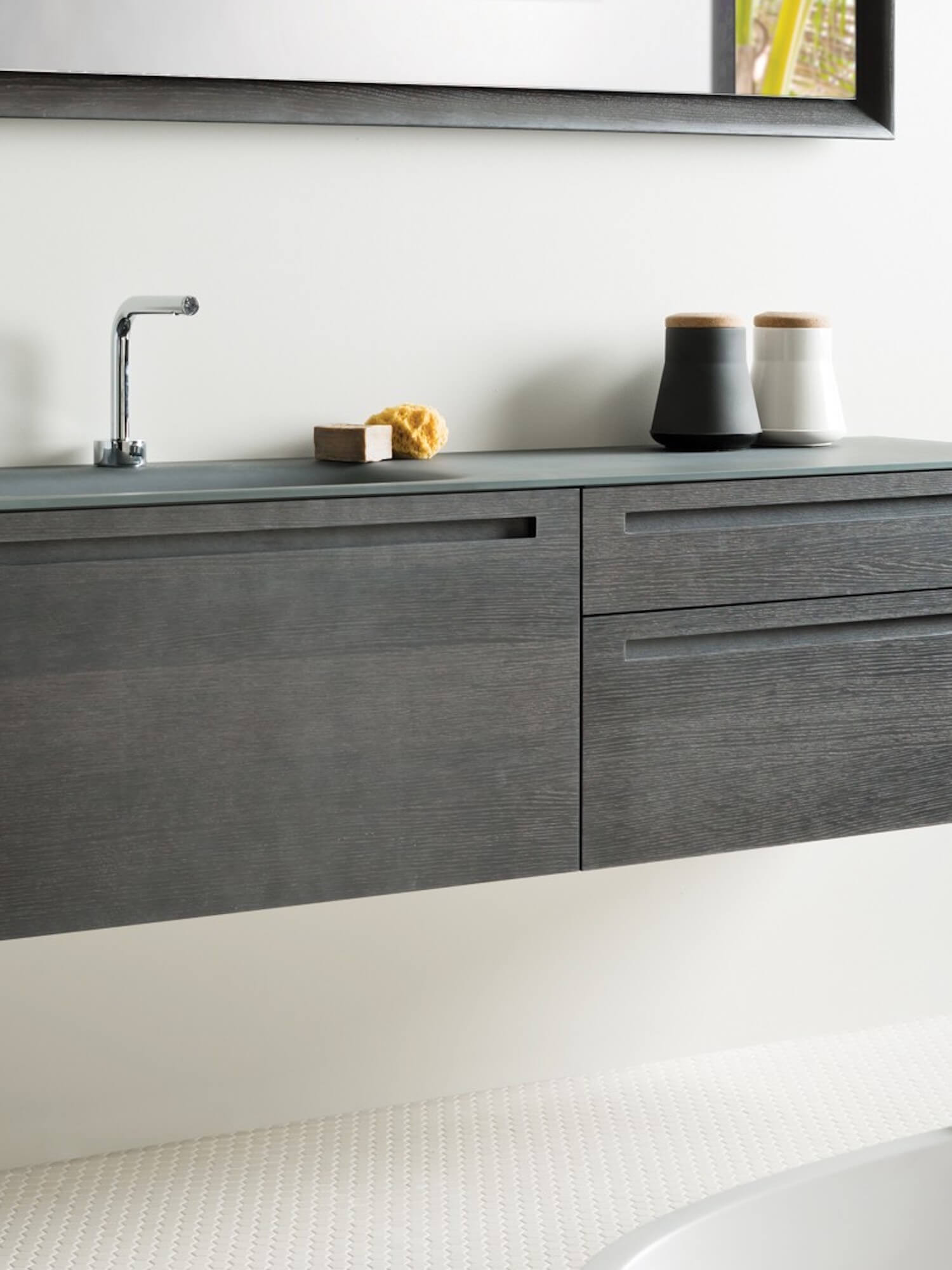 est living falper via veneto vetro integrated cabinets and basins via veneto vetro 7