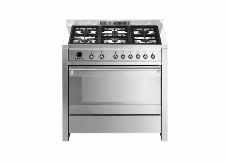 Smeg 90cm Freestanding Thermoseal Gas/Electric Cooker