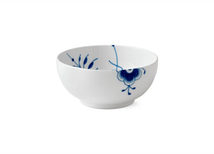 Blue Fluted Mega Bowl