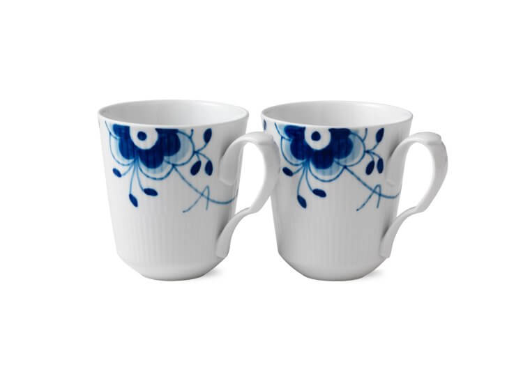 Blue Fluted Mega Mugs Royal Copenhagen