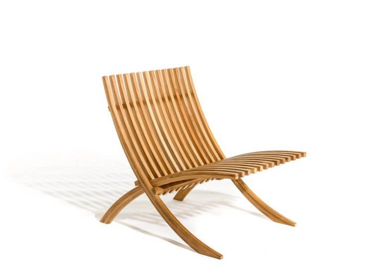 Nozib Lounge Chair Parterre