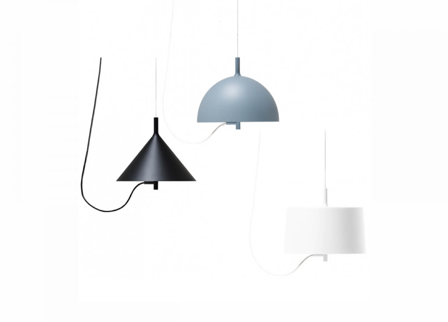 W132 Nendo Pendant Lamp By Wastberg Est Living Design Directory