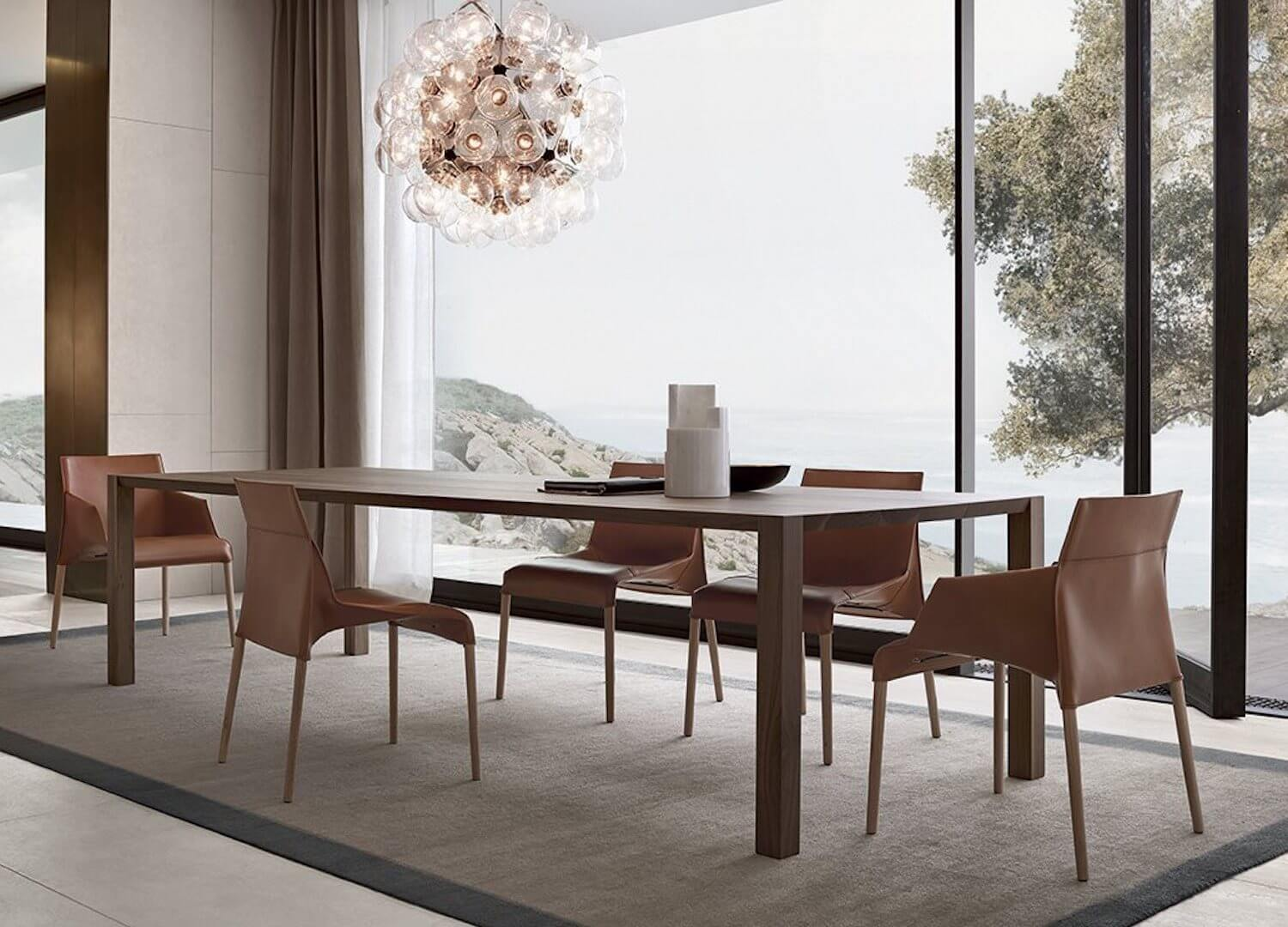 Dynamic Dining Duos From Poliform Product Design Est Living