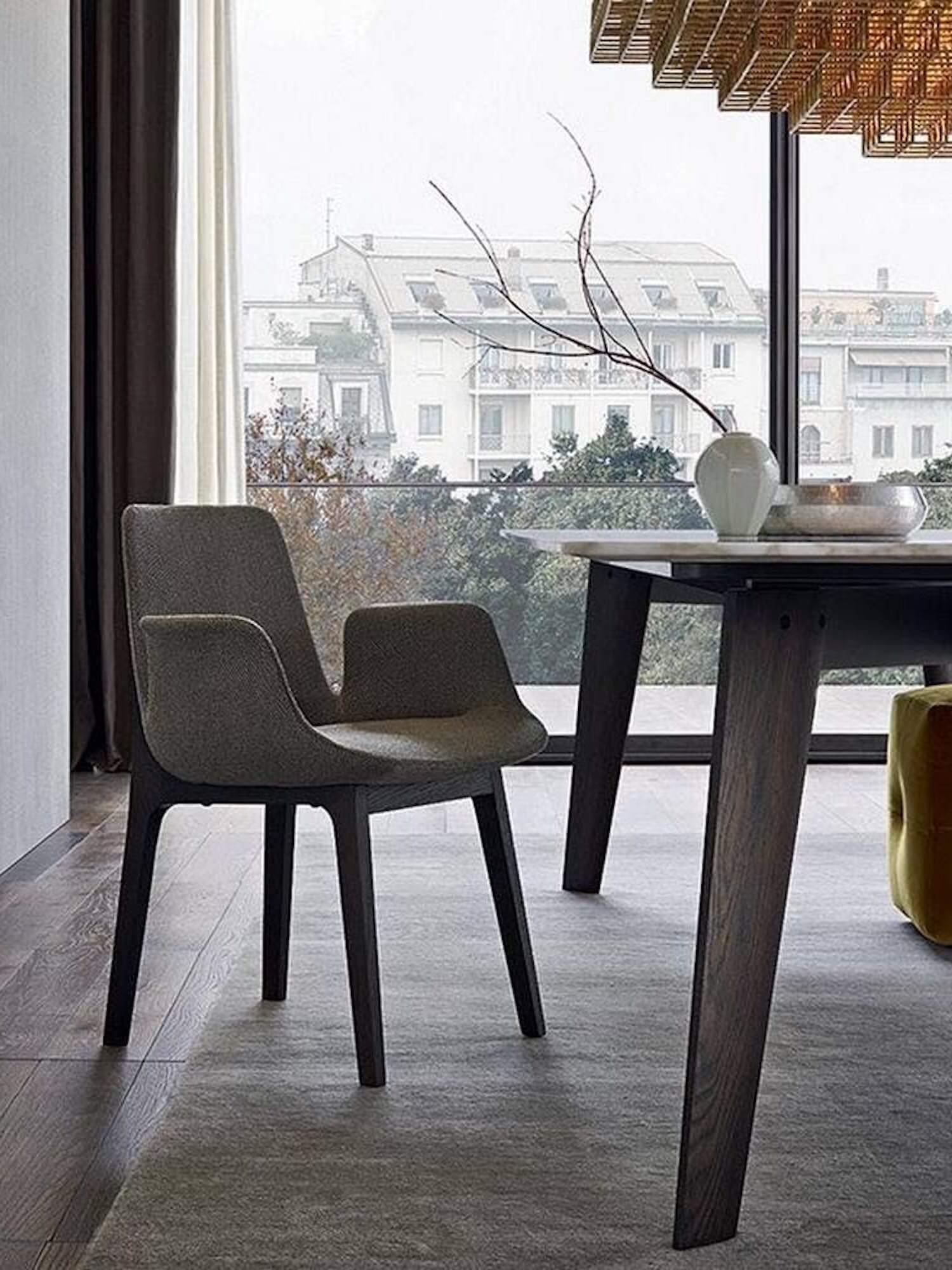 Dynamic Dining Duos from Poliform   Product Design   est ...