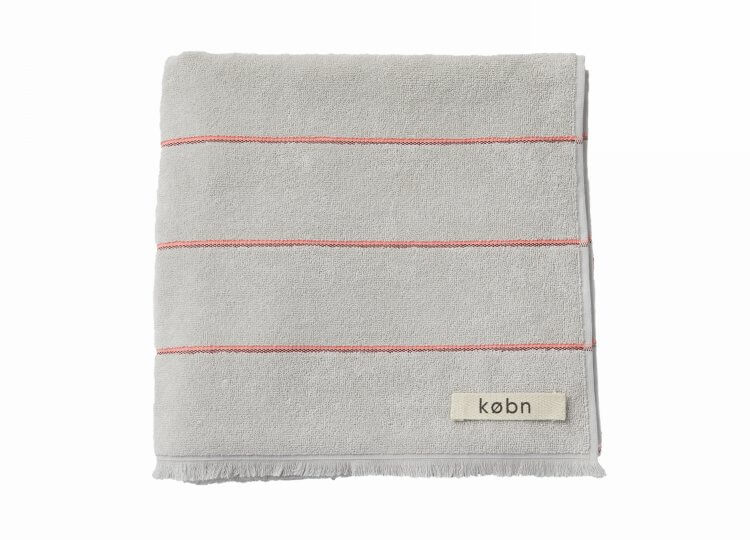Pale Grey Towel Købn