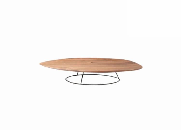 Pebble Low Table - Concave Lignet Roset