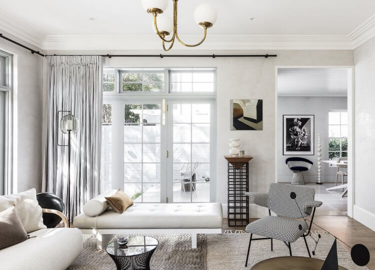 Living | Darling Point Living Room by Alexander & Co.