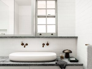 Bathroom 1 | Darling Point Bathroom by Alexander & Co.