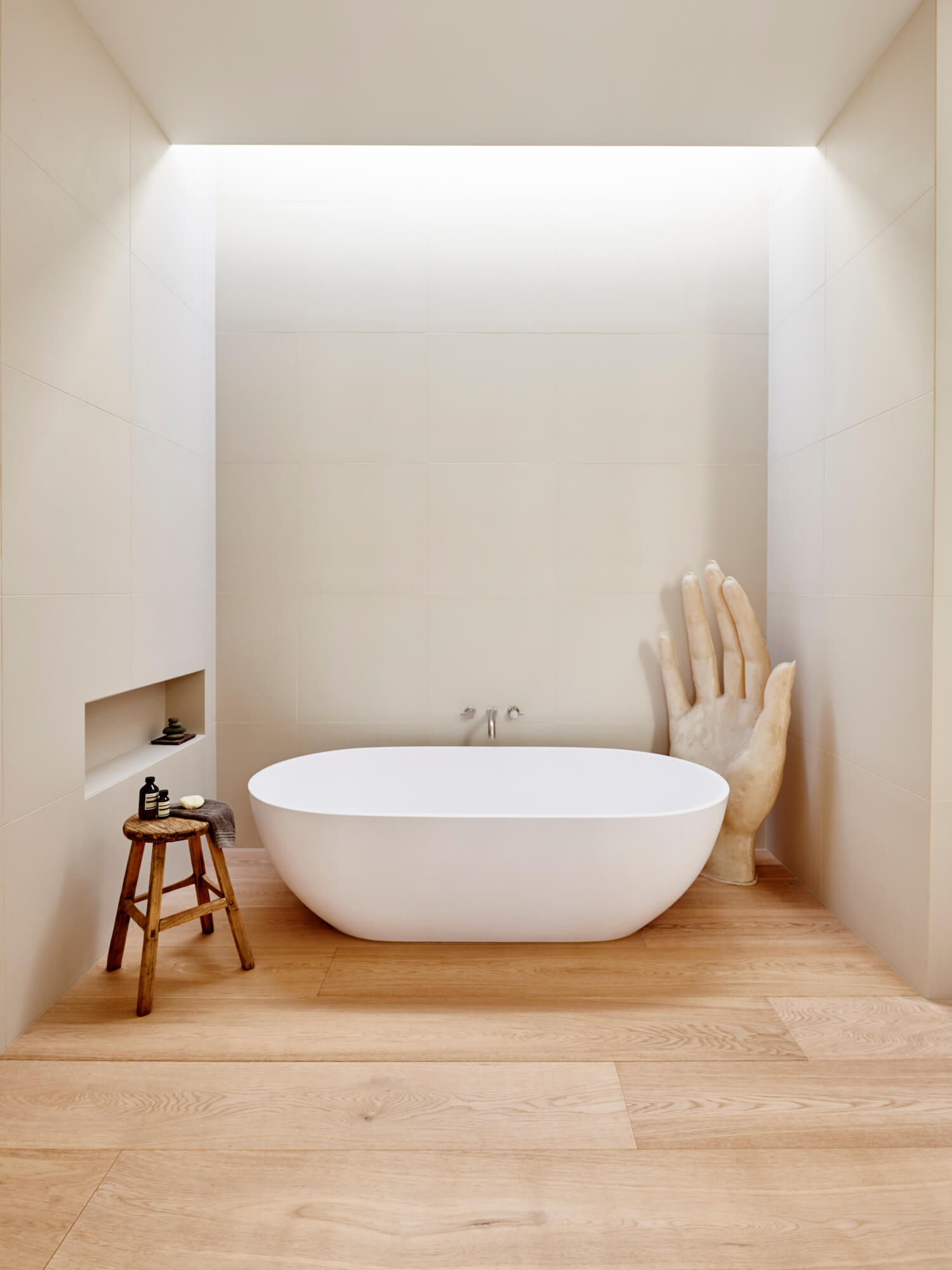Bathroom Portsea Family Beach House Spaces Est Living