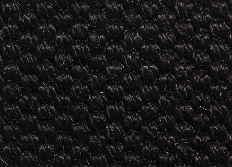 Belgian Black Kohl Sisal Rug Natural Floorcovering Centres