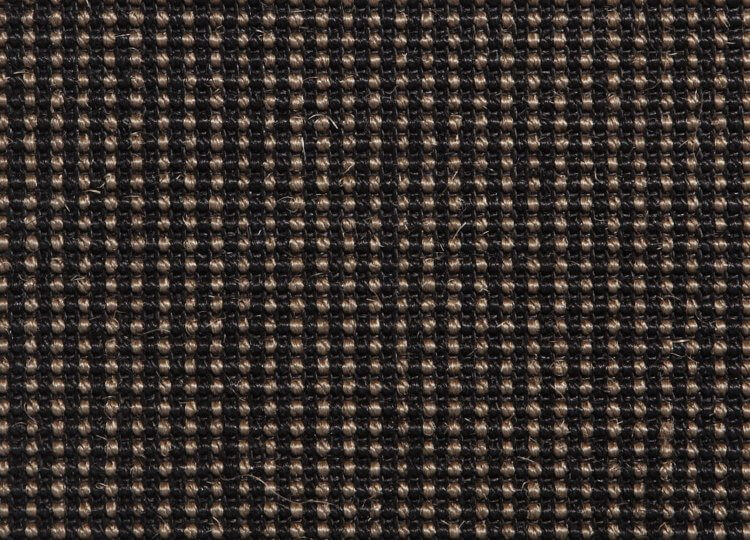 Belgian Black Pearl Sisal Carpet