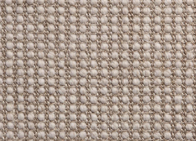 Belgian Platinum Lattice Wool And Sisal
