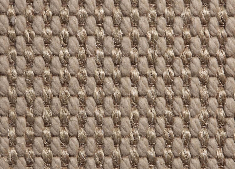 Belgian Silver Basquette Wool And Sisal
