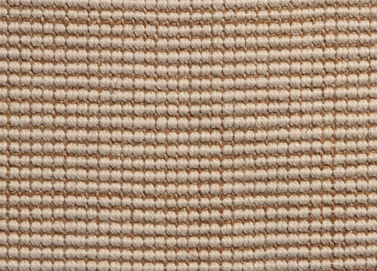 Cream Sisal with Wool Carpet Natural Floorcovering Centres