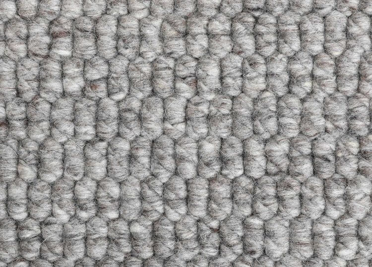 Dappled Grey Woven Wool Rug