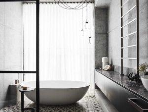 The Edit: Steel Framing in the Bathroom