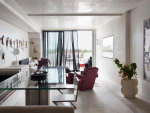 Living   Pacific Bondi Apartment Living Room by Amber Road