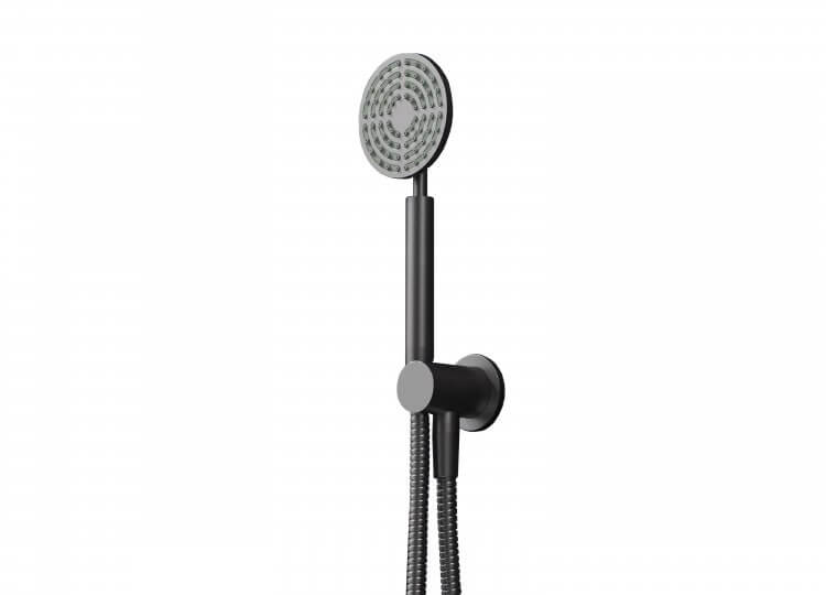 Eccentric Hand Shower on Integrated Wall Union Rogerseller