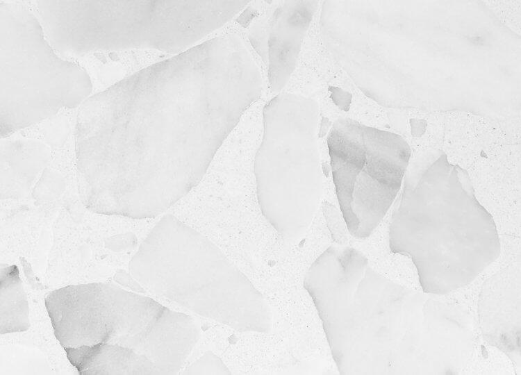 Terrazzo Slab Bianco Neve Signorino