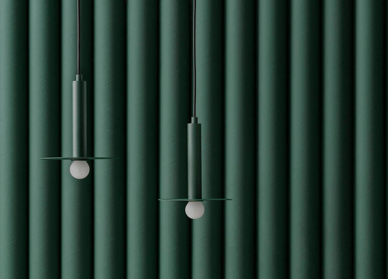 est living stockholm furniture fair fild plate lamp 1