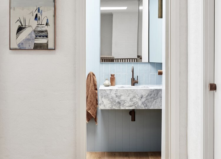 Bathroom 2 | Portsea Beach House Bathroom by Studio Esteta