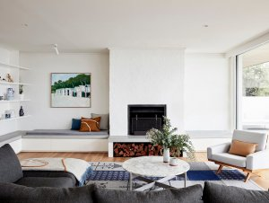 Living | Portsea Beach House by Studio Esteta